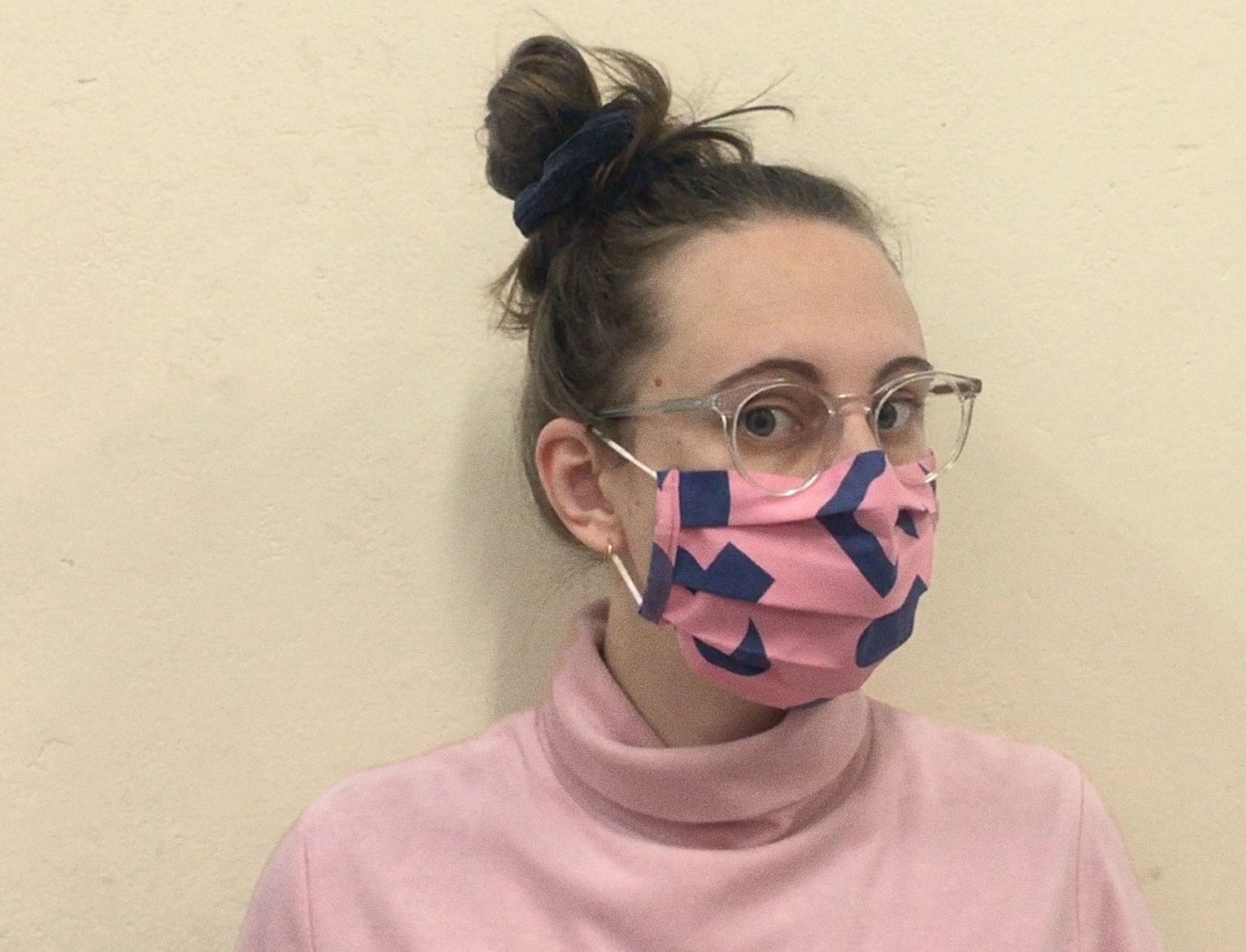 Image of PINK MASK CUT OUTS