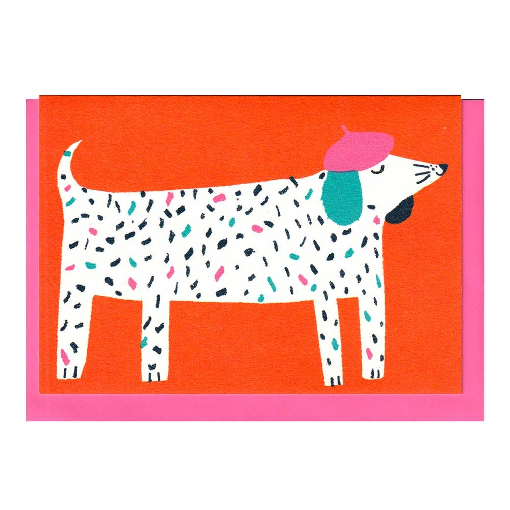 Image of Dog in Hat Card