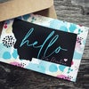 Hello From Montana Greeting Cards -Boxed Set of 8