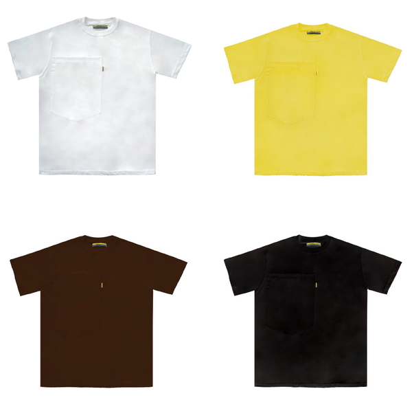 Image of Oversized Pocket Tee 4 Pack