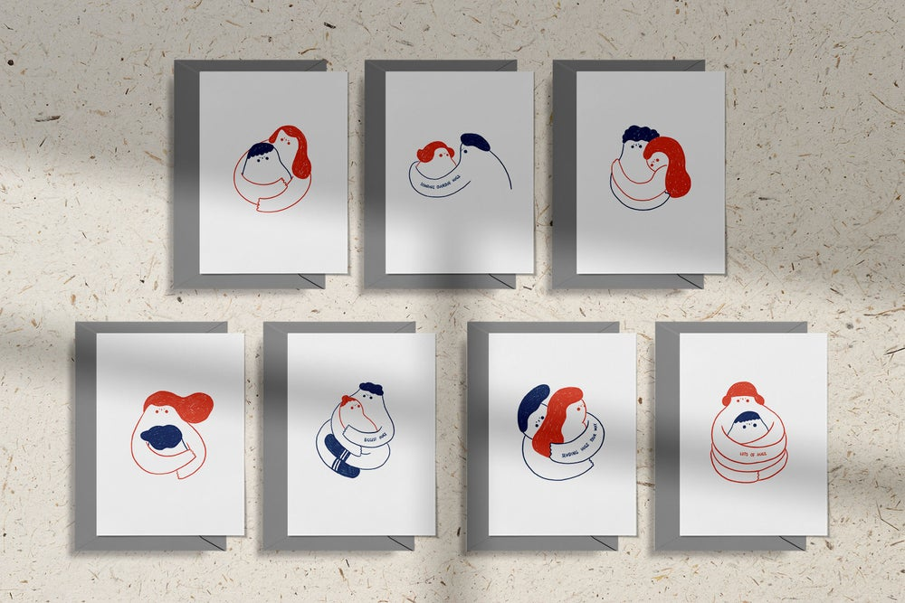 Image of MFEO Handmade 'Send a Hug' Greeting Card