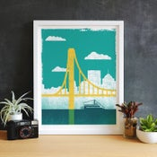 Image of Mini PGH Bridges Prints - New!