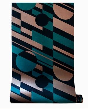 Image of P.L.U.T.O. Wallpaper - Lido & Copper