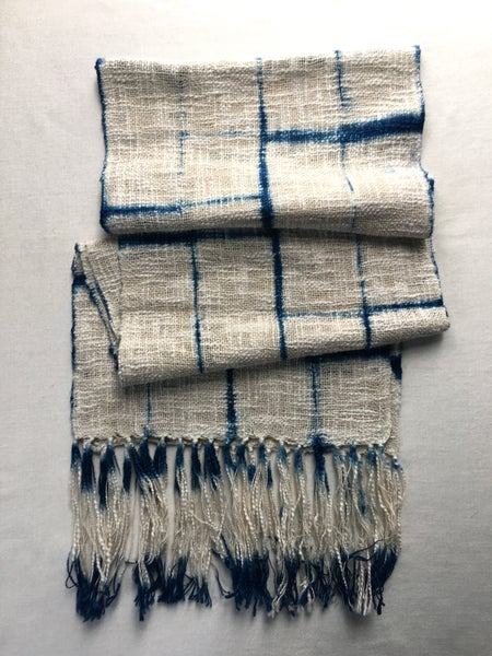 Image of Frosted Windows — Husky Cotton Scarf