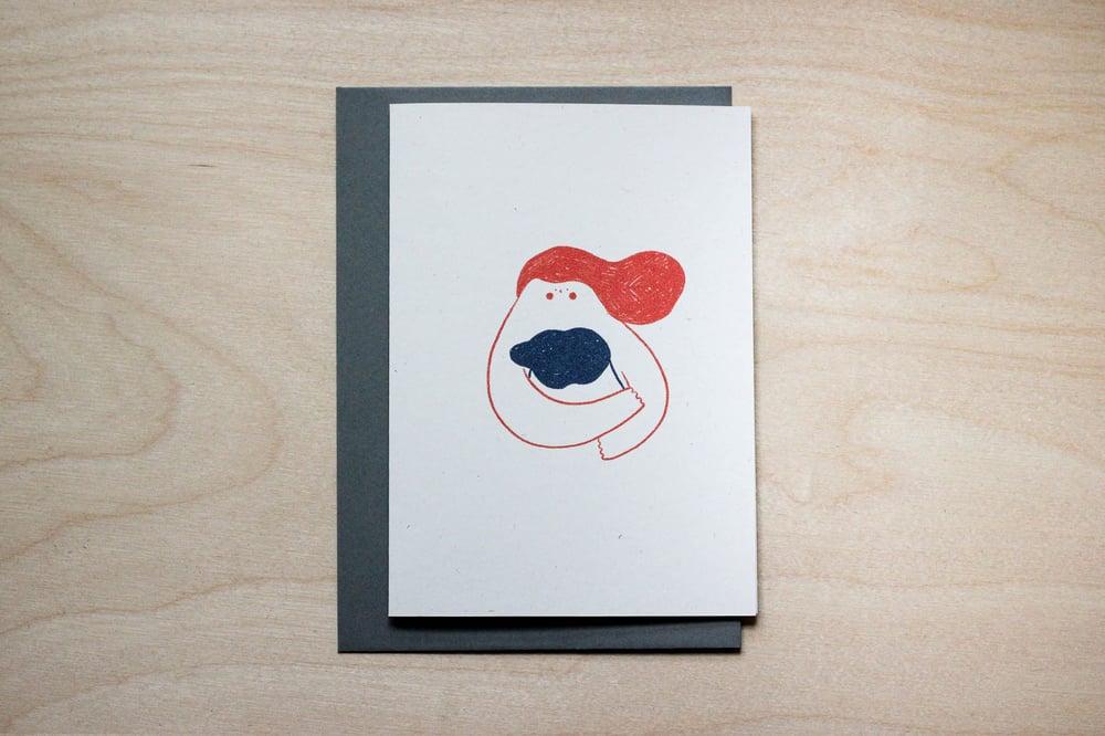 Image of MFEO Handmade 'A Hug for You' Greeting Card