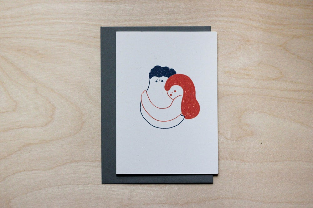 Image of MFEO Handmade 'No Words Just Hugs' Greeting Card