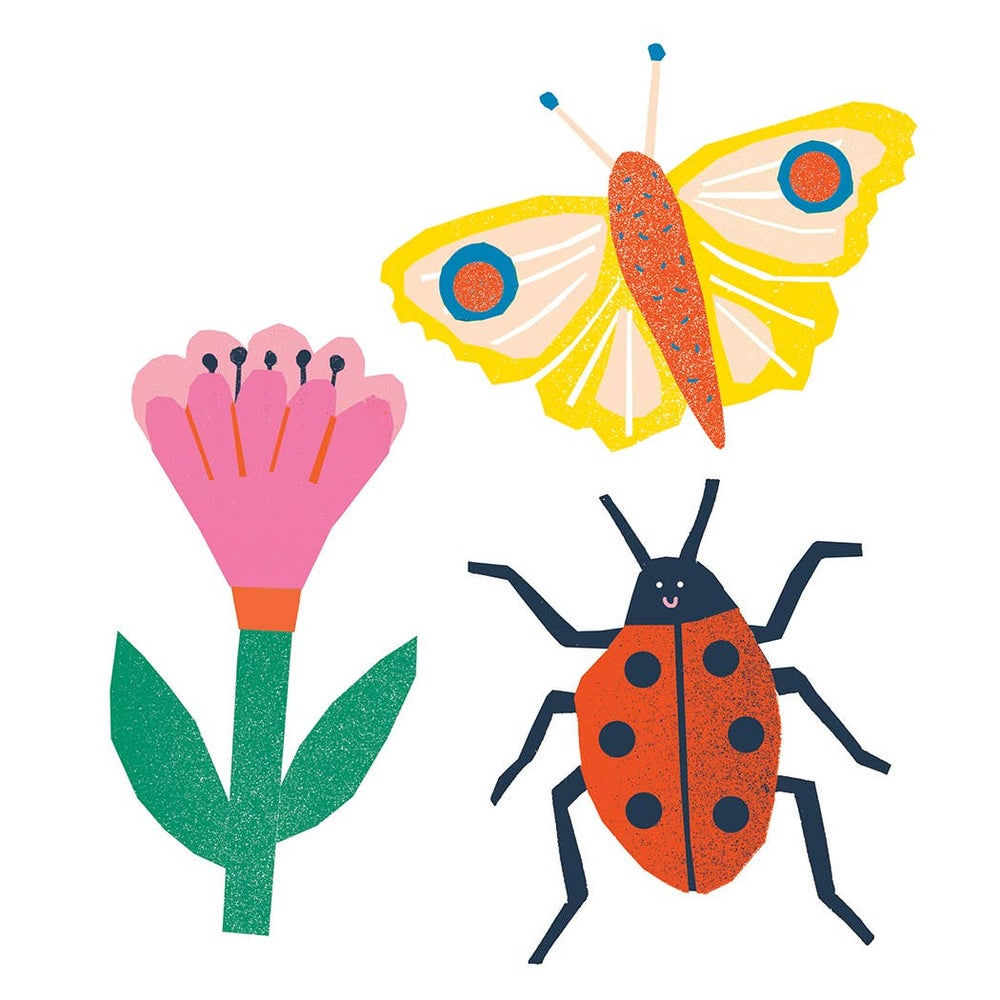 Image of Bugs Vinyl Sticker Set