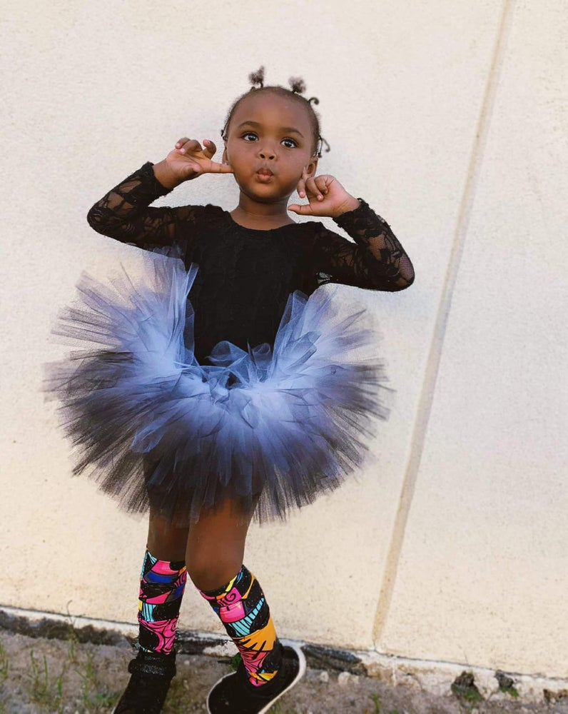 Image of Black Dipped Tutu