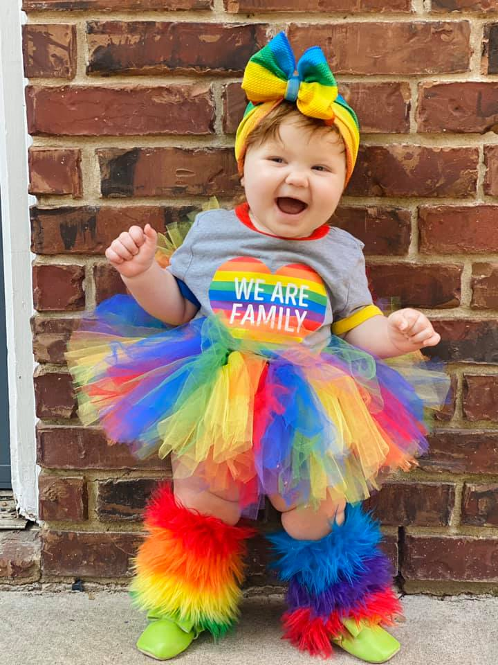 Image of Rainbow Spirit Tutu