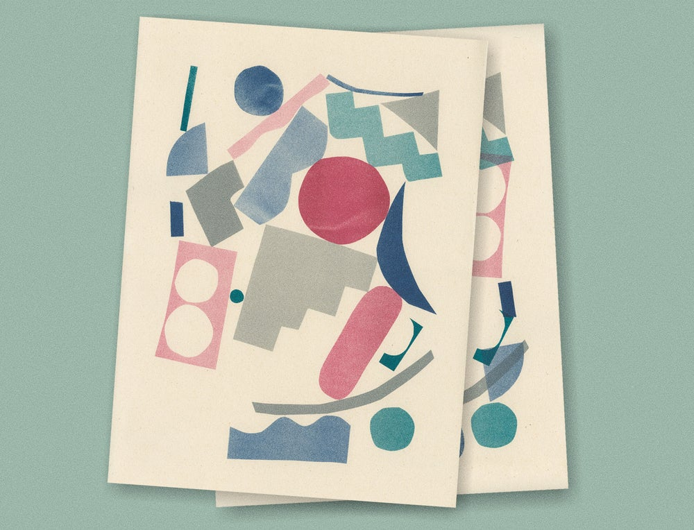 Image of COLOR SHAPES PRINT