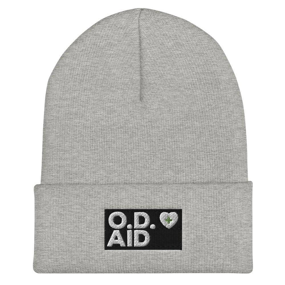 Image of O.D. Aid Cuffed Beanie + Free shipping