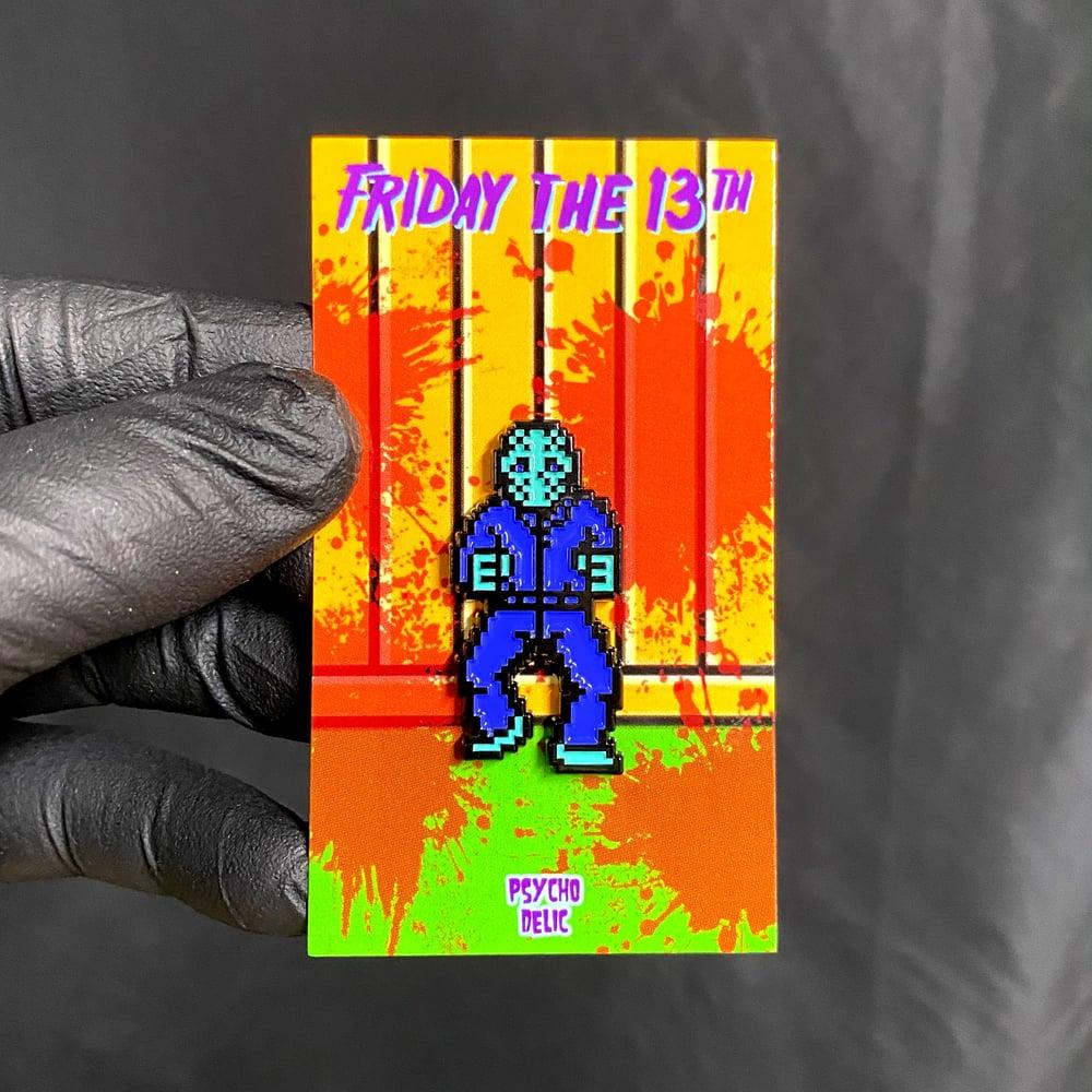 8-Bit Jason (Enamel Pin)