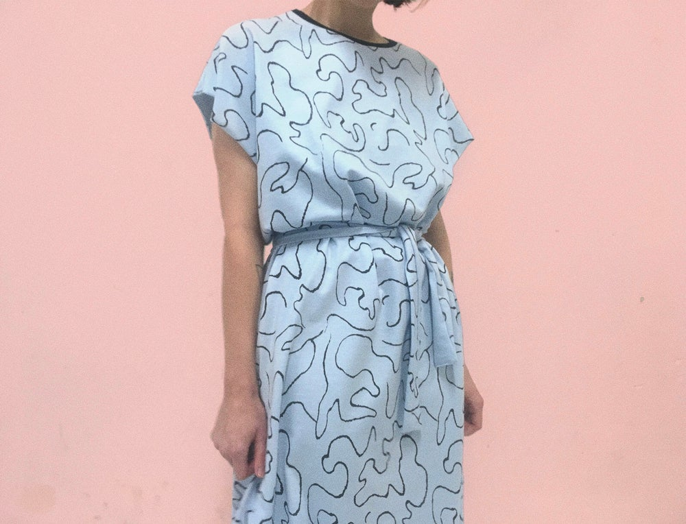 Image of WAVE LOOSE DRESSES
