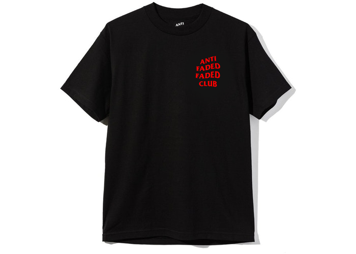 Image of AFFC T-Shirt BRED (Black & Red) - Limited Edition - Pre-Order
