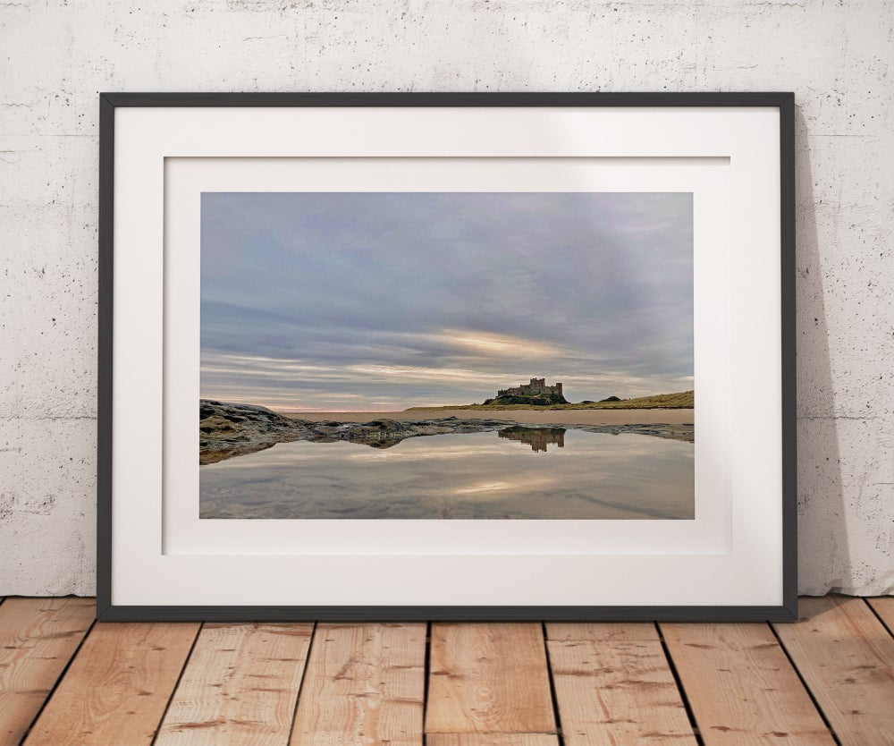 Reflection of Beautiful Bamburgh