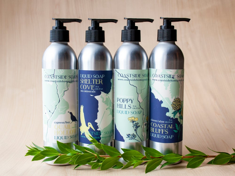 Image of Coastside Liquid Soaps