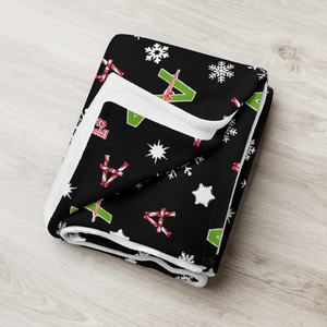 Image of Vandals Christmas Blanket from Sergio Giorgini