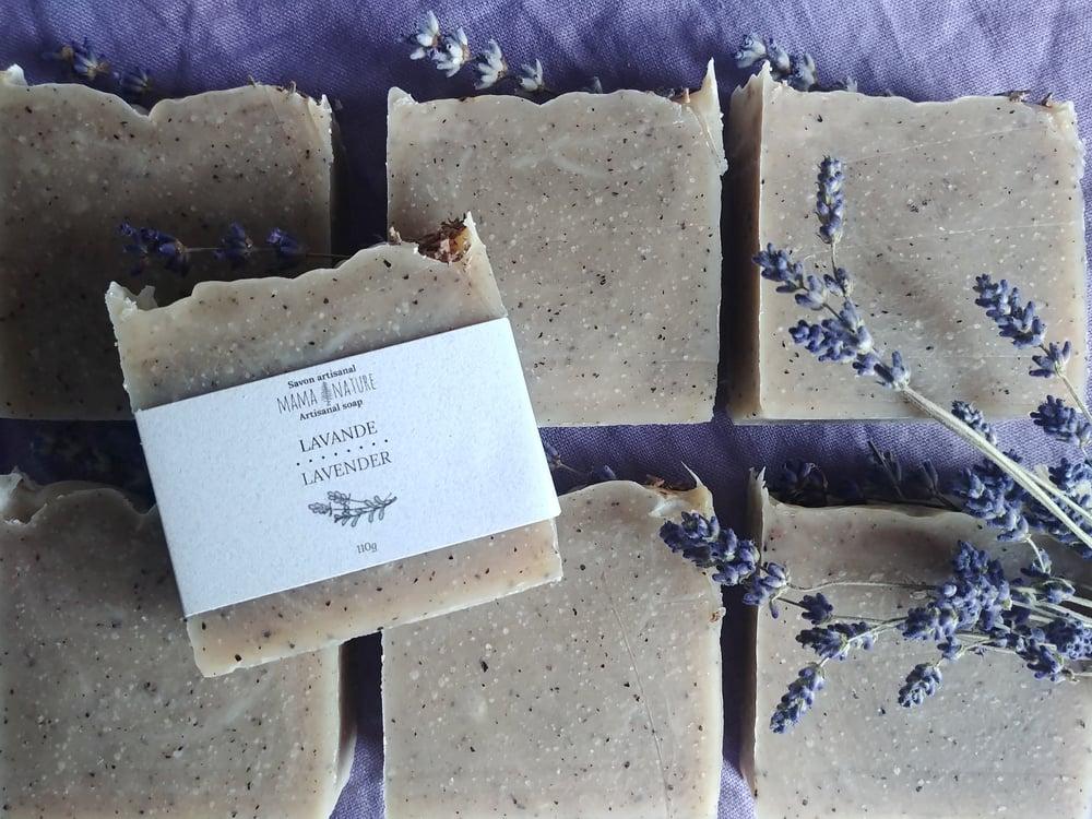 Image of Savon artisanal à la lavande - Lavender artisanal soap