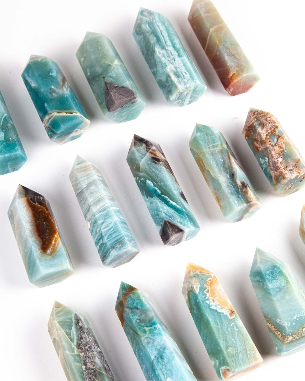 Image of Blue Chalcedony Towers