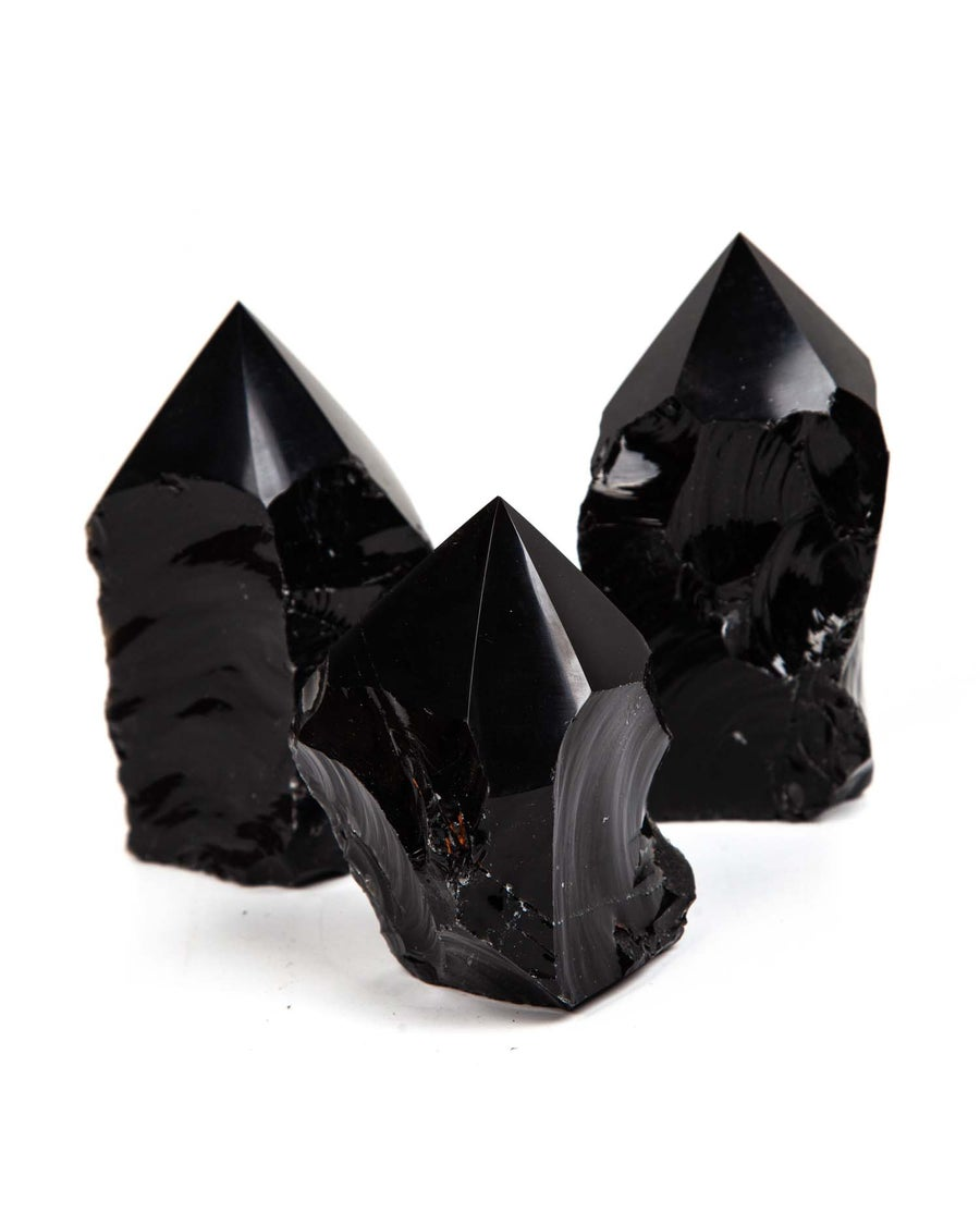 Image of Protective Black Obsidian Points