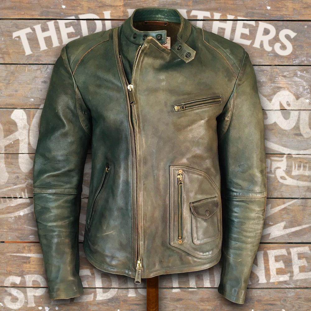 Image of THEDI LEATHERS JACKET MTC-GR1279