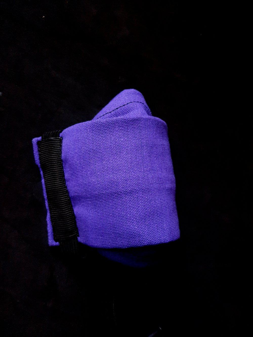 Cotton Face Cover (Purple)