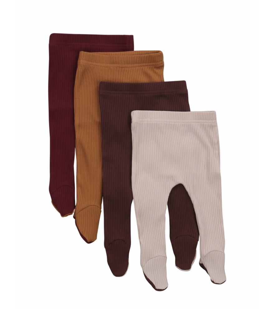Ribbed Footed Leggings
