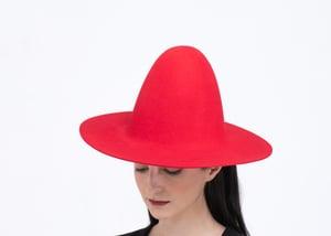 Image of Wool Brim Fedora Hat - 014
