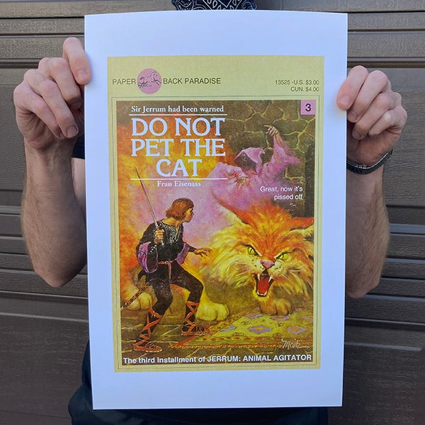 Image of Do Not Pet the Cat - 11 x 17 Print