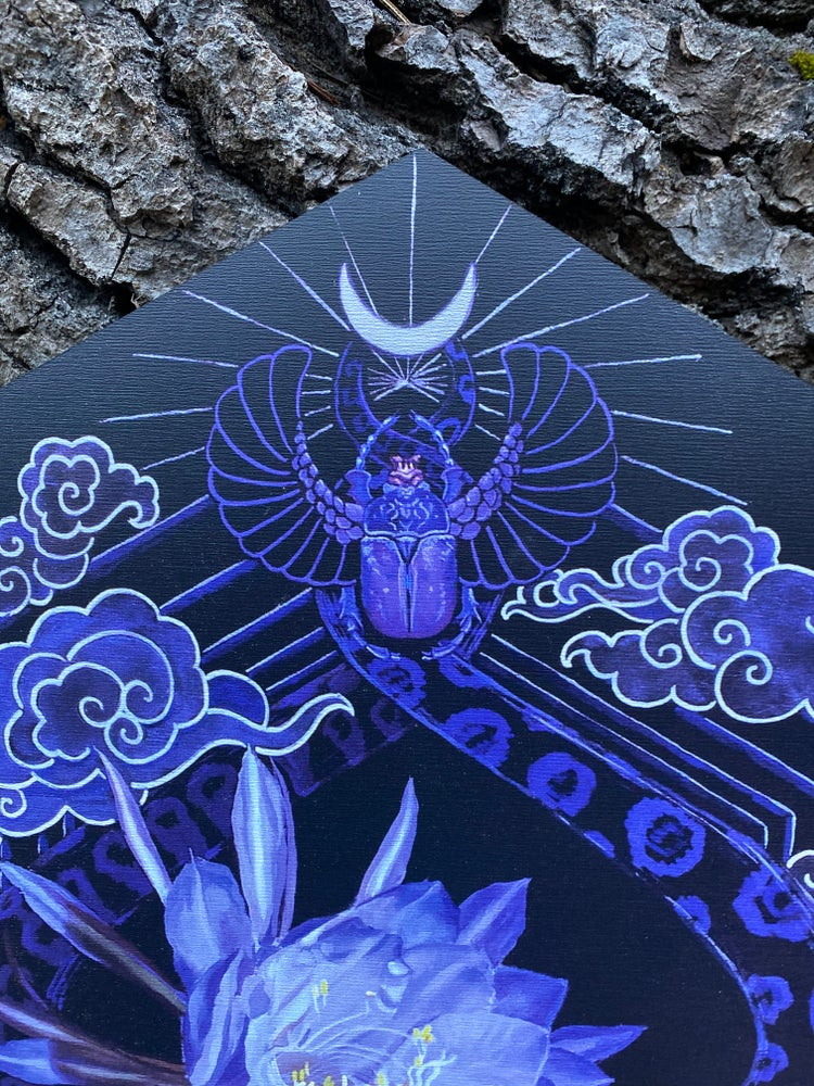 Image of Queen of The Night ~ wood print