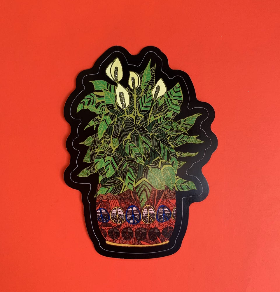Image of Houseplant Stickers -Weatherproof