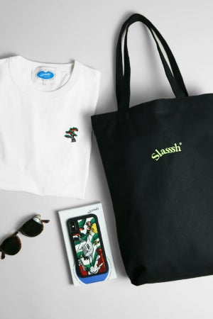 Image of Logotype Embroidery Tote Bag