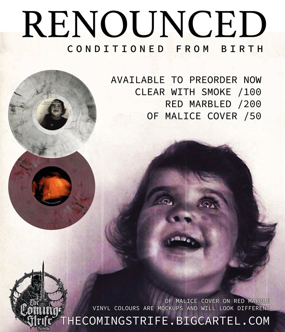 """TCS 039: Renounced - Conditioned From Birth 12"""""""