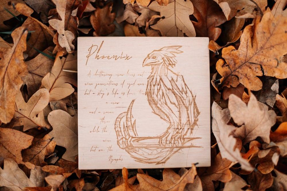 Image of Limitiert 14x14cm - Hippogryph / Phoenix