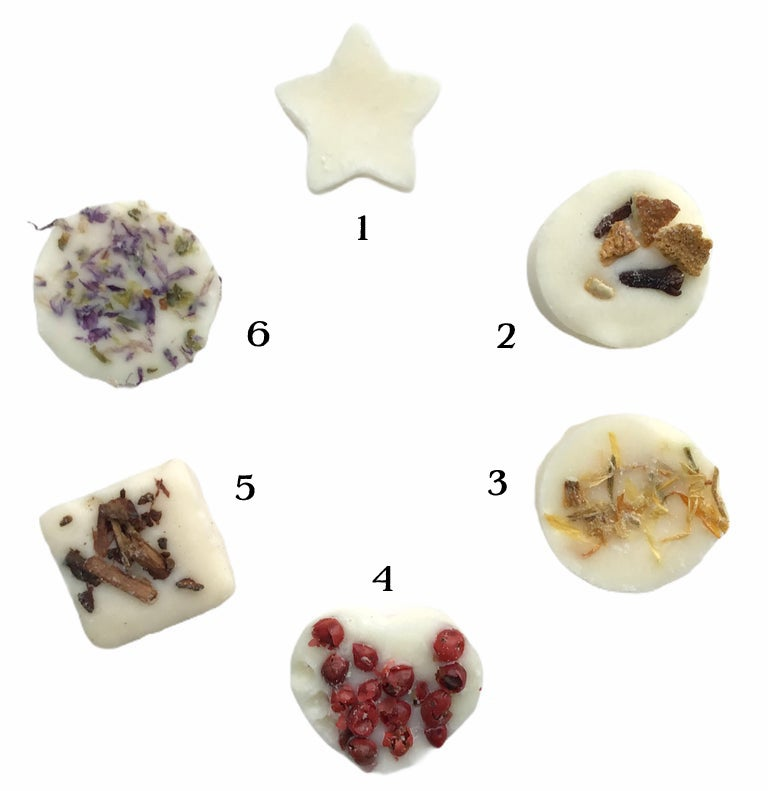 Image of Freckleface Botanical Soya Wax melts Pick & Mix - 10  in a Box £12.00