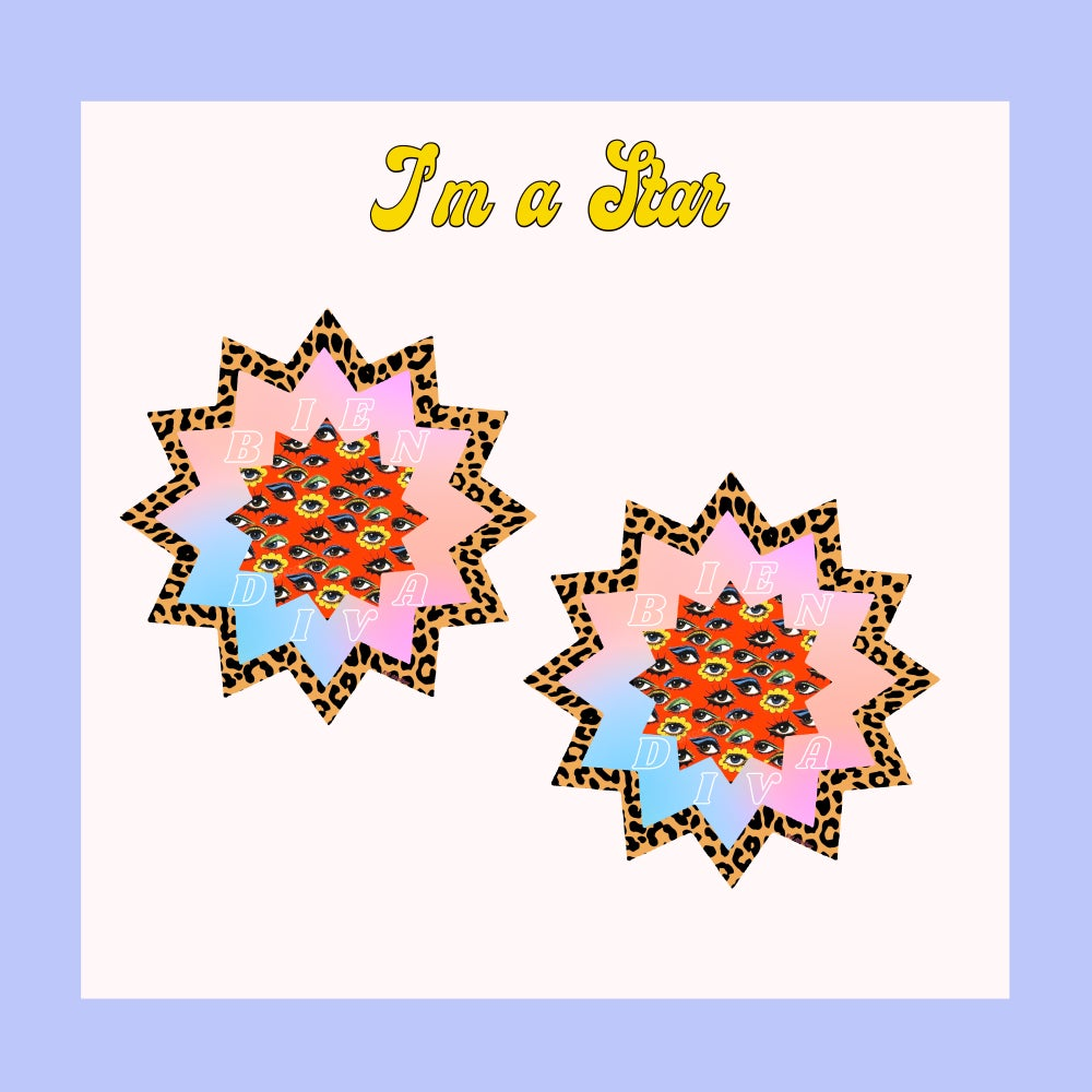 Image of I'm a Star earrings