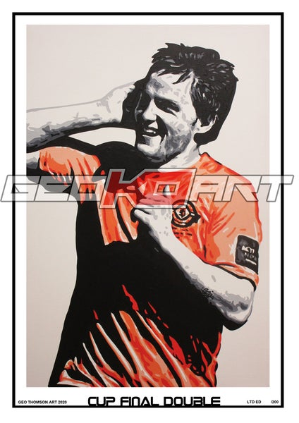 Image of CRAIG CONWAY DUNDEE UNITED CUP FINAL