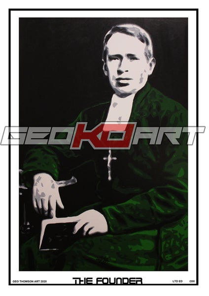 Image of BROTHER WALFRID CELTIC FC FOUNDER