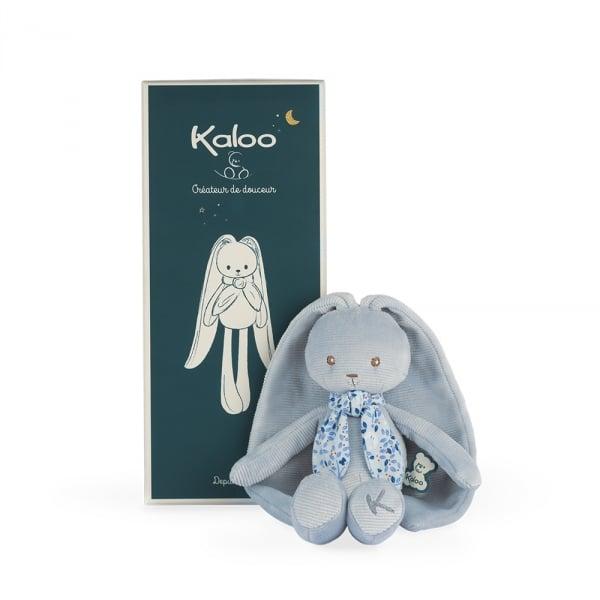 Image of Doudou lapinoo bleu 25 cm