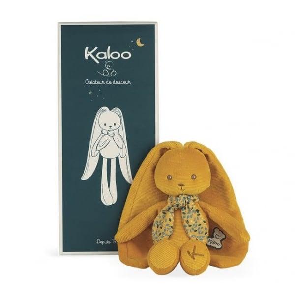 Image of Doudou lapinoo ocre 25 cm