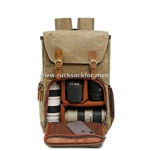 Image of canvas rucksack