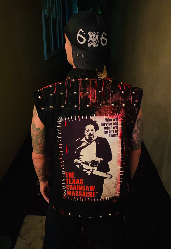 Image of Texas Chainsaw Vest - Only 2 Available!