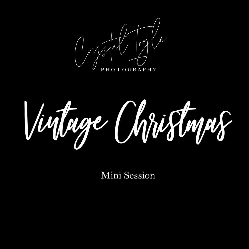 Image of Vintage Christmas Mini Session | 2021