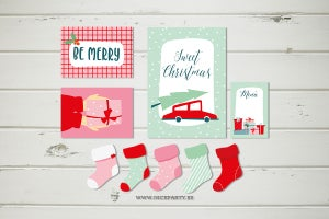 Image of Kit imprimible Candy christmas
