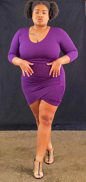 Image of Grape 🍇 Juice Dress