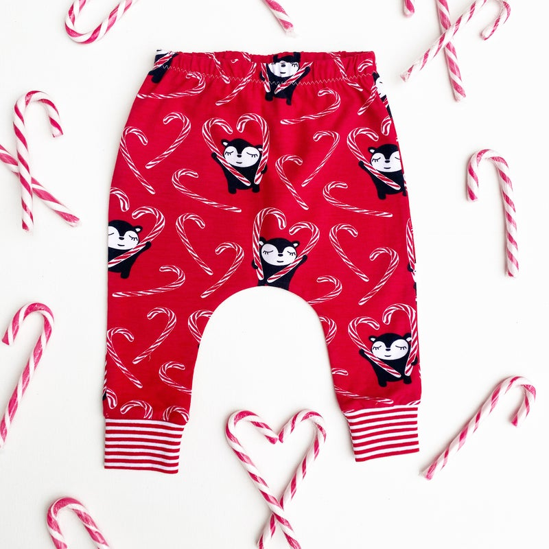 Image of Candy Cane Leggings