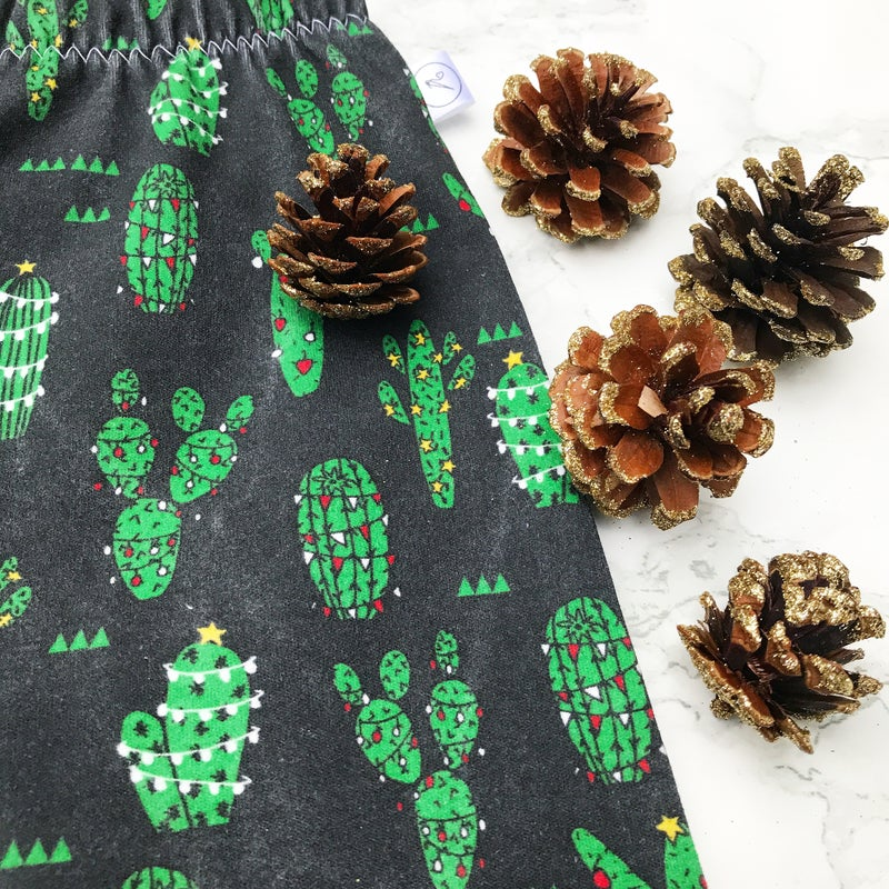 Image of Christmas Cactus Leggings