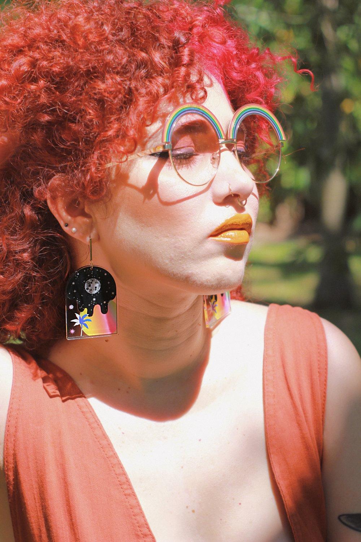 Image of Ventana al Paraíso earrings