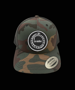 Image of LA ONDA CAMO  SNAP BACK CAP (FREE-SHIPPING ON THIS ITEM ONLY)