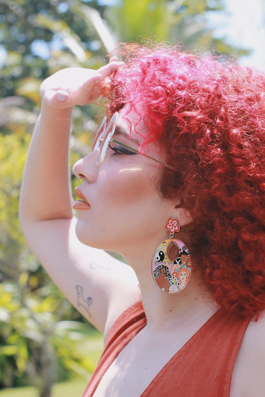 Image of Go Go Girl earrings